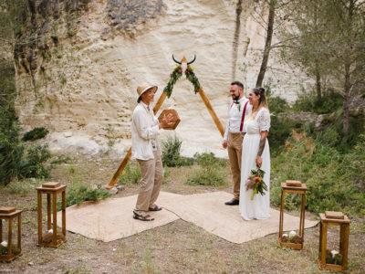 Boda elopement en Menorca